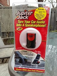 Phone for your car radio into a speaker phone.. Mississauga, L5N 8K1