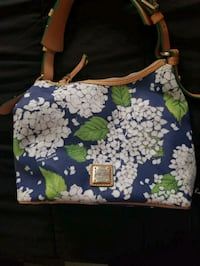 blue,white,and green floral handbag San Diego, 92104