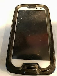 white Samsung Galaxy Android smartphone with black case Johnstown, 12095