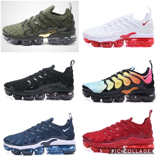 2da13a189dda0 Used assorted-color Nike Air Max shoes collage for sale in Garland ...