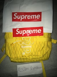 Supreme backpack fall winter 6243 km