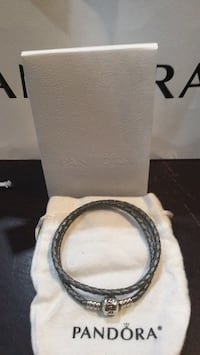Authentic Pandora Leather Bracelet Toronto, M1J 2N7