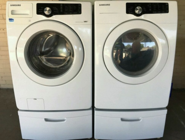 Used Samsung Vrt Front Load Washer And Dryer For Sale In