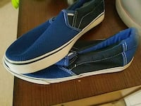 pair of blue-and-white low top sneakers Fredericksburg, 22401