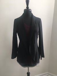 Brand new black woven overpiece size L