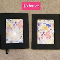 New! Picture frames