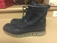 PreOwned Cole Haan ZeroGrand Boots Waterproof Men's Size 9M Lace Up Royal Kunia, 96797