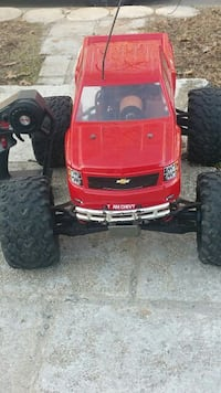 red chevy toy monster truck