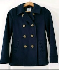 Ladies Navy Coat xs
