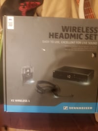 Sennheiser Headset wireless Microphone NEWORLEANS