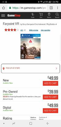 Farpoint vr ps4 game