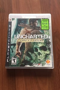 PS3 UNCHARTED Drake's Fortune  Vaughan, L4K 1H2