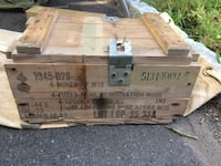 Original packing crate for Apers anti-personnel mines Fairfield, 06824