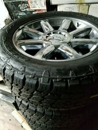 20 Inch GMC Rims With 275-65-20 Nitto Tires Prince George's County, 20746