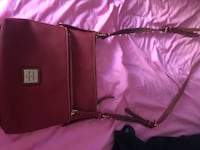 Donney and Burke  red leather crossbody bag Whittier, 90601