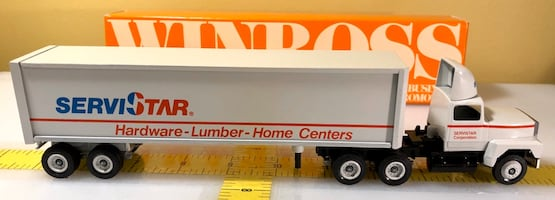 ServiStar Corporation Hardware Lumber, Truck, Ford 9000, Winross