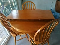 brown wooden dining table set Guelph, N1E 2V5