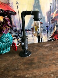 Industrial Water Pipe Table Desk Lamp Coventry, CV3 1FF
