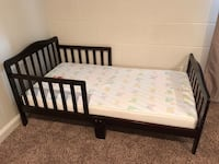 Toddler Bed with Mattress  992 mi