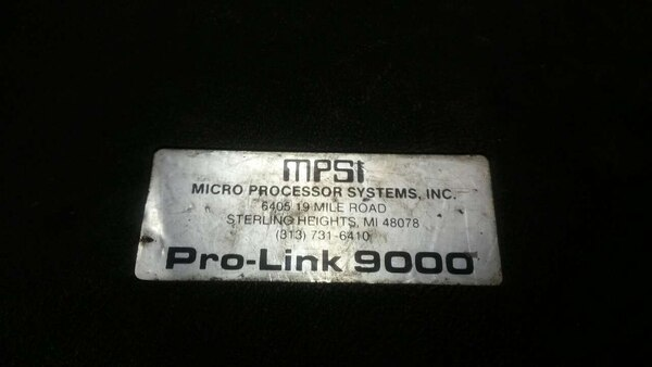 Used Mpsi Pro Link 9000 Diagnostic Tool For Sale In