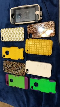 assorted color iPhone case lot Leon Valley, 78238