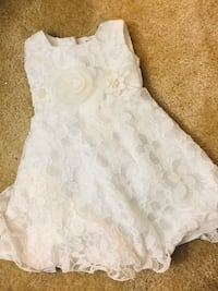 Brand New ivory 12 month baby girl dress with beads Rockville, 20850