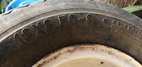 Two black auto wheel with tires Alamo, 78516