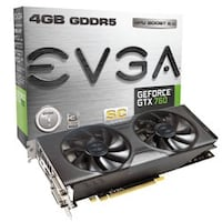 EVGA GTX 760 4GB (Super Clocked) GDDR5 Triangle, 22172