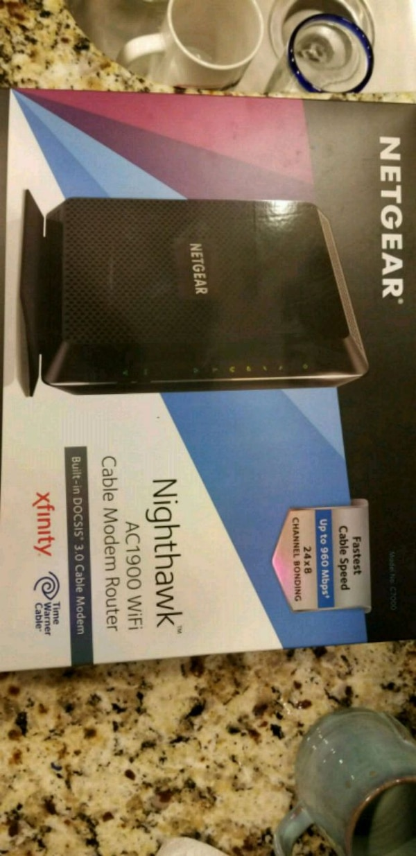 Cable 3 0 modem router combo