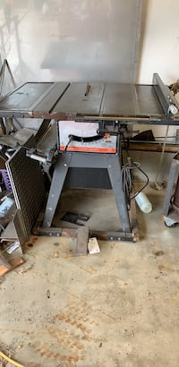 """table   saw 10"""".   make offer  Boston Heights, 44236"""