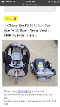 Chicco KeyFit 30 infant car seat with base screenshot