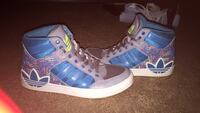 Pair of blue-and-white adidas sneakers Fayetteville, 28303