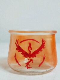 Team valor candle holder