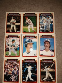 1989 topps baseball woolworth set 1-33 West Babylon