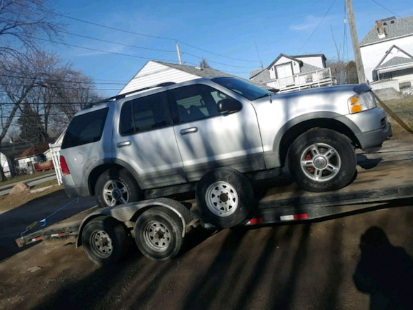 2002 ford explorer for parts or fixable