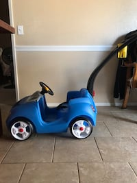 blue and black ride on toy car Hemet, 92545