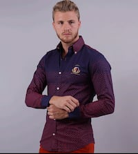 Wooden button shirt/camisa con boton de maderac278 Perth Amboy, 08861