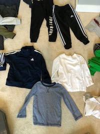 Very stylish toddler boy clothing. Fits 3/4 years. $5 each item. I have tons. Most clothing from H&M good quality. Will give a deal for the whole bundle! Surrey, V3S 8W8