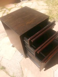 Office end table file cabinet or nightstand