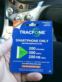 Tracfone smartphone card Snohomish, 98290