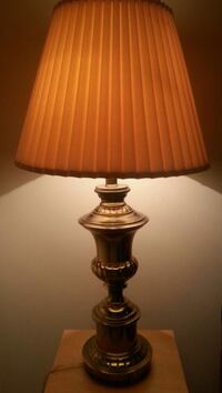 HEAVY Tall Brass Table Lamp  Mississauga, L5N 2X2