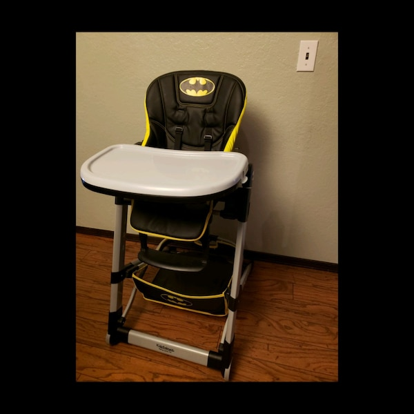Incredible Barely Used Batman High Chair Download Free Architecture Designs Scobabritishbridgeorg