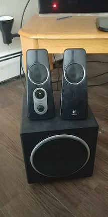 Logitech speakers with subwoofer Z523