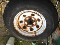 Trailer wheels and tires  Sandyston, 07826