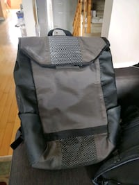 gray and black backpack carrier Toronto, M1C 5G2