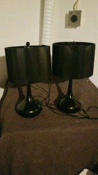 two black-and-brown table lamps Burlington, L7P 1X7