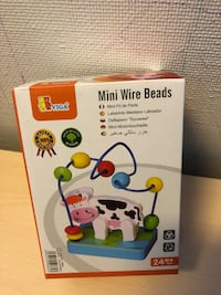 Viga mini wire beads boks Oslo, 0594