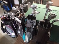 Golf clubs sets for beginners or teens/ 4 complete sets Birmingham