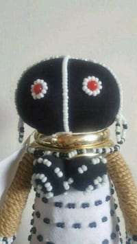 """Ndebele 10"""" ceremonial south African doll Queens, 11426"""