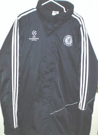 Adidas Chelsea Football Club Winter Quilted Lining Jacket XL